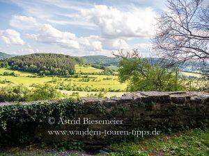 Drei-Burgen-Weg: mittelalterliche Geschichte in Spessart und Rhön
