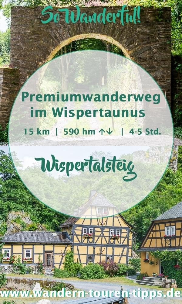 Rhein-Main wandern: Premiumwanderweg Wispertalsteig - Infos & Tipps