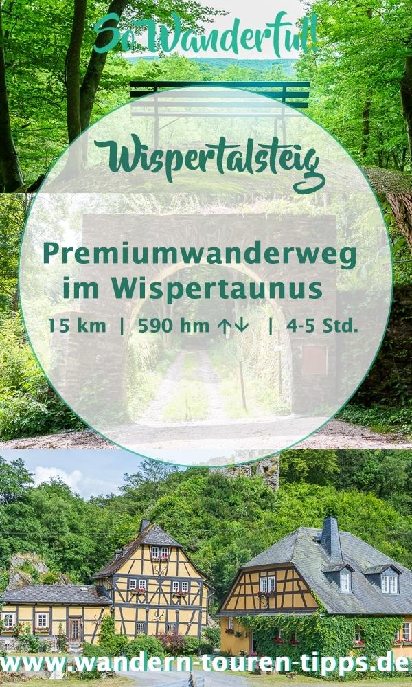 Rhein-Main wandern: Premiumwanderweg Wispertalsteig - Infos und Tipps