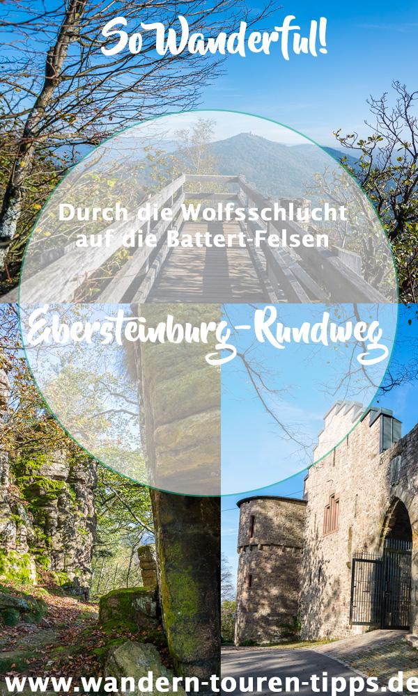 Schwarzwald wandern: durch Battert-Felsen & Wolfsschlucht