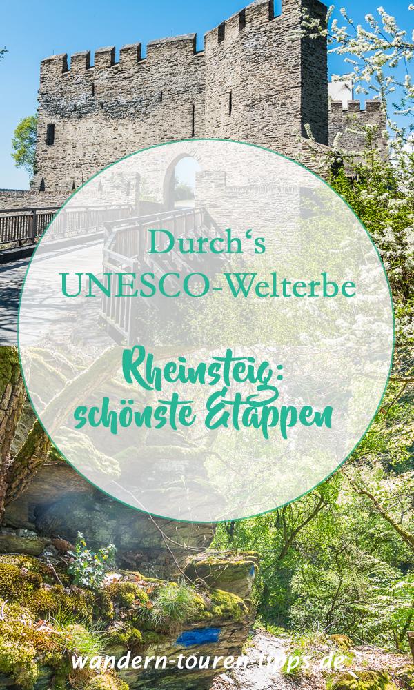 Rheinsteig wandern: schönste Etappen - Durchs UNESCO-Welterbe