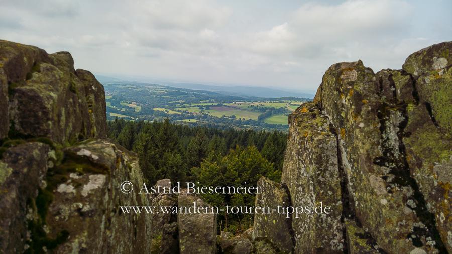 Vogelsberg wandern: vom Hoherodskopf  zu weiteren Gipfeln