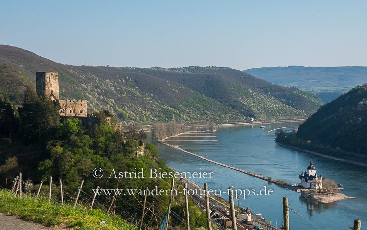 Die schönsten Rheinsteig-Etappen haben eine der höchsten Burgendichte der Welt