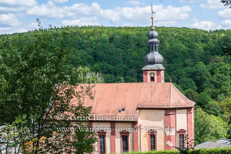 Auf dem Spessartweg zur Wallfahrtskirche Mariabuchen
